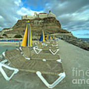 Canarian Loungers  Poster