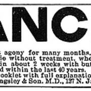 Cancer Treatment, C1875 Poster