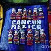 Cancun Souvenirs Mexico Poster