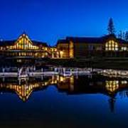 Candle Lake Golf Resort Poster by Gerald Murray Photography