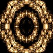 Candles Abstract 6 Poster