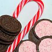 Candy Cane -  Cookies - Sweets Poster