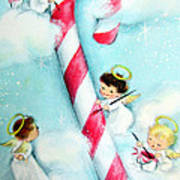 Candy Cane Poster