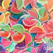 Candy Fruit Poster