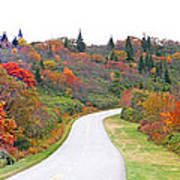 Candy Land On The Blueridge Parkway Poster