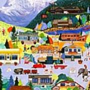 Canmore Art Walk Poster