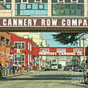 Cannery Row Monterey California Poster by Artist and Photographer Laura Wrede