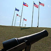 Cannon At Fort Sumter Poster