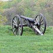 Cannon On Culp's Hill Poster
