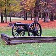 Cannon On The Parade Grounds Poster