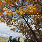 Cannon On Top Of Lookout Mountain Poster by Bruce Roberts