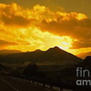 Canon City Sunset Poster