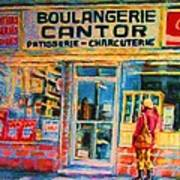 Cantors Bakery Poster