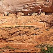 Canyon Dechelly Pueblo Ruins Poster