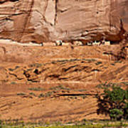 Canyon Dechelly Whitehouse Ruins Poster
