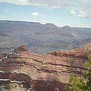 Canyon Rock Poster