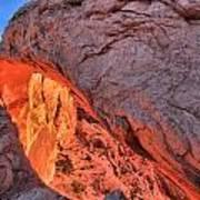 Canyonlands Orange Band Poster