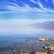 Cap Corse Under An Azure Sky Poster