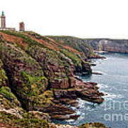 Cap Frehel In Brittany France Poster