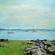 Cape Cod  Boats Poster