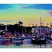 Cape Cod Harbor Poster