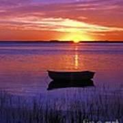 Cape Cod Sunrise Poster by John Greim