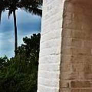 cape Florida light door Poster