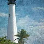 Cape Florida Lighthouse 2 Poster
