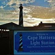 Cape Hatteras Lighthouse 2 11/05 Poster