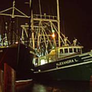 Cape May Fishing Fleet Poster