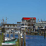 Cape May Harbor Poster