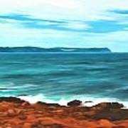 Cape Spear Shoreline Poster