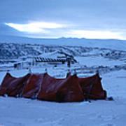Capeevanshut-antarctica-g.punt-9 Poster