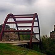 Capital Of Texas Bridge Poster