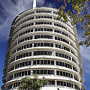 Capitol Records Building 2 Poster