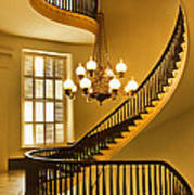 2 - Capitol Staircase - Montgomery Alabama Poster