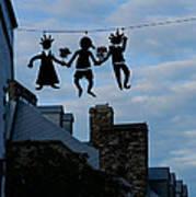 Capricious Quebec City Canada Poster