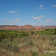 Caprock Canyon Of Texas Poster