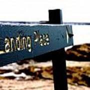 Captain Cooks Landing Place Poster