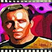 Captain James T Kirk Poster