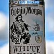 Captain Morgan White Rum Poster