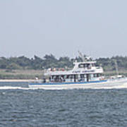 Captree's Captain Gregory Heading Out To Sea Poster