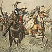 Capture Of Samory By Lieutenant Poster