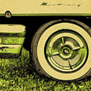 Car And Tire Poster