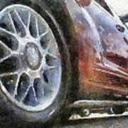 Car Rims 01 Photo Art 02 Poster