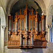 Carcassonne Organ Poster