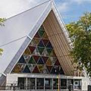 Cardboard Cathedral Poster