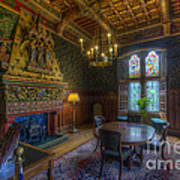 Cardiff Castle Apartment Dining Room Poster