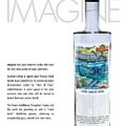 Carey Chen Big Chill Vodka By Jimmy Johnson Poster