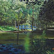 Carey's Pond Poster